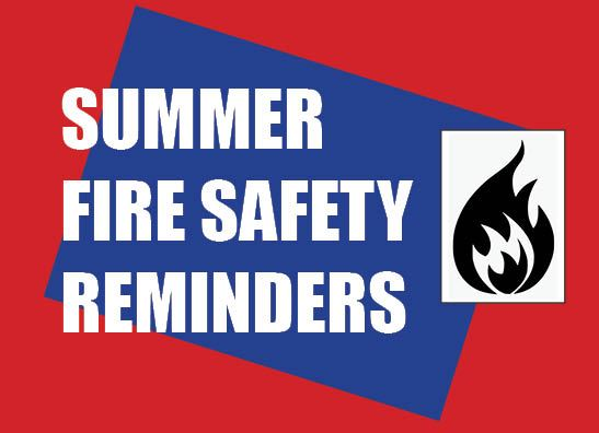 Fire Safety Reminders