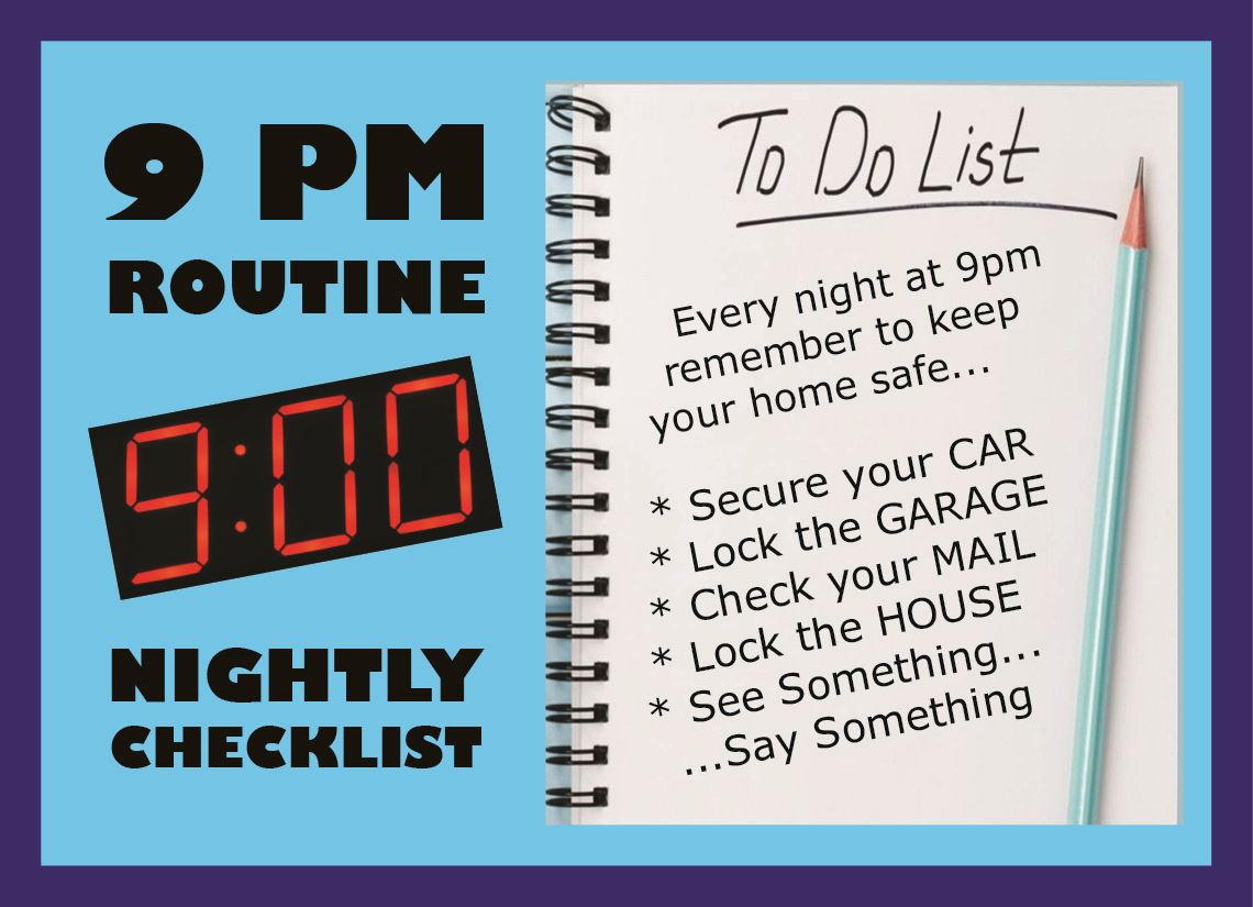 Web graphic - 9 PM Routine image
