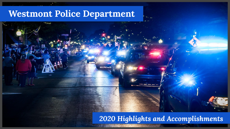 Final 2020 Police Dept Year-End Accomplishments